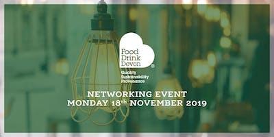 Food Drink Devon Evening Networking Event