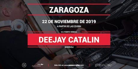 Sesión DJ Deejay Catalin en Pause&Play Puerto Venecia entradas