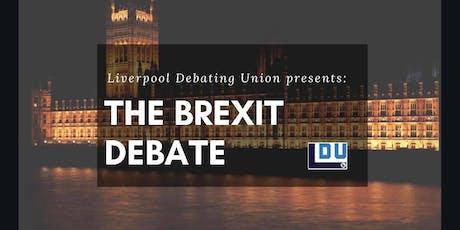 Liverpool Debating Union presents: Big Brexit debate tickets