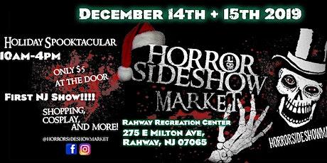 Horror Sideshow Market Tickets December 2019 tickets