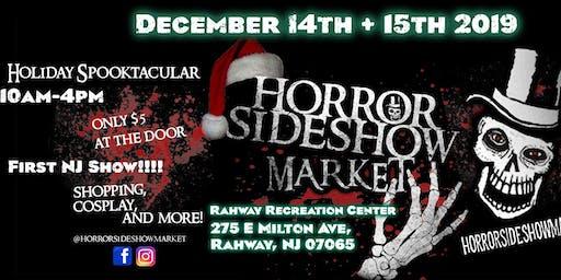 Horror Sideshow Market Tickets December 2019