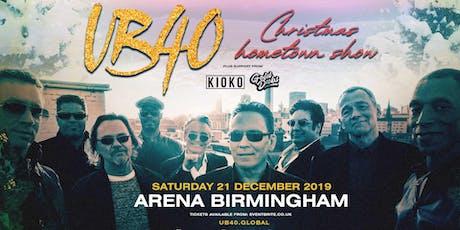 UB40 - Christmas Hometown Show (Arena, Birmingham) tickets