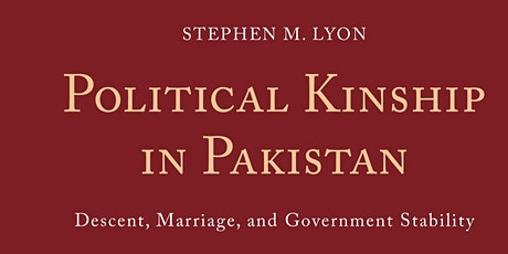 Book Launch - Political Kinship in Pakistan tickets