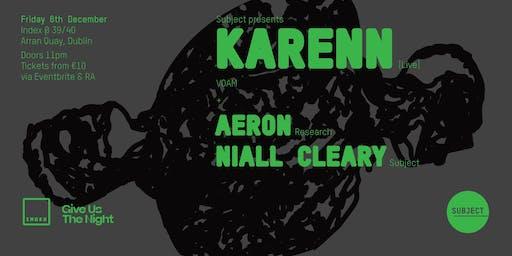 Index: Karenn [Blawan & Pariah] - Live
