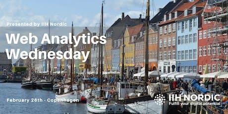 Web Analytics Wednesday - Copenhagen Feb 2020 tickets