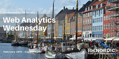 Web Analytics Wednesday - Copenhagen Feb 2020 tickets