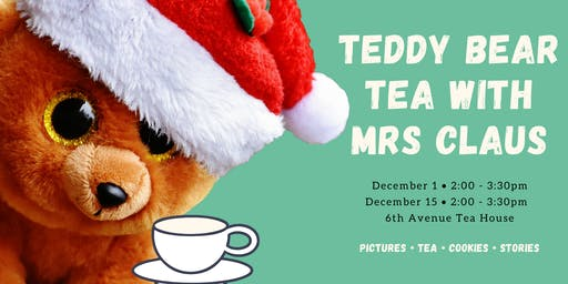 Teddy Bear Tea with Mrs Claus