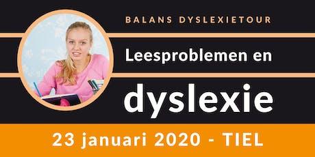 Balans Dyslexietour - Tiel tickets