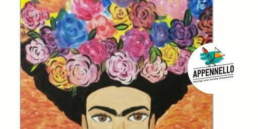 Frida fiorita: aperitivo Appennello a Verona