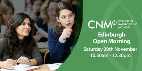 CNM Edinburgh - Free Open Morning tickets