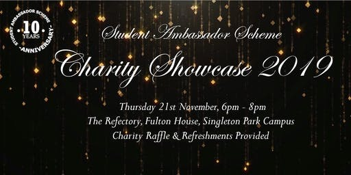 Student Ambassador Scheme Charity Showcase