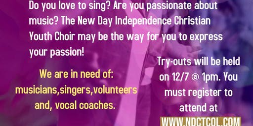 New Day Indepedence Christian  Youth Choir