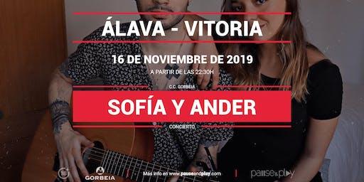 Concierto Sofía y Ander en Pause&Play Gorbeia