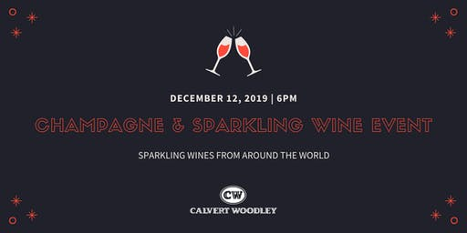 Calvert Woodley's Champagne and Sparkling Wine Event