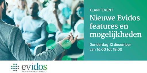 Evidos klantenevenement: Nieuwe Evidos features en mogelijkheden