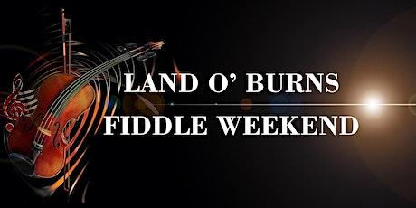 Land o' Burns Fiddle Weekend 2022 tickets