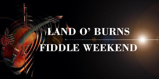 Land o' Burns Fiddle Weekend 2020
