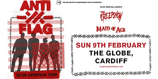 Anti-Flag (The Globe, Cardiff)
