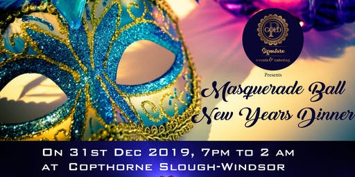 Masquerade Ball New Years Eve Party