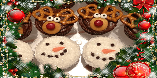 Christmas Cupcake Decorating