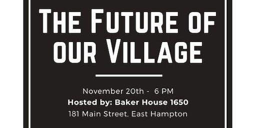 East Hampton Village Collaborative Meeting #2