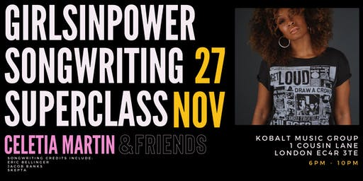 Girls In Power Songwriting Superclass with Celetia & Friends
