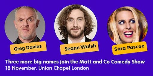 National Autistic Society presents: Matt and Co Comedy Show