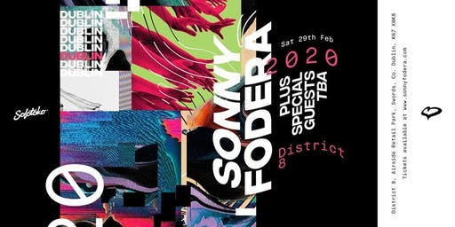 Sony Fodera  at District 8  - SOLOTOKO Tour -