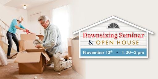 Downsizing Seminar & Open House