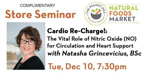 Cardio Re-Charge! The Vital Role of Nitric Oxide (NO) for Circulation
