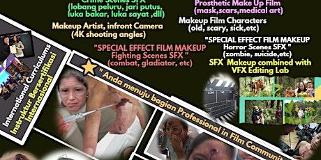 Akademi Makeup film specialist(SFX,prothestic,chrcters,artist)bginner/xpert tickets
