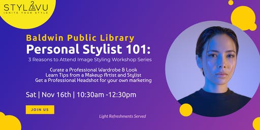 Image Styling Workshop Series