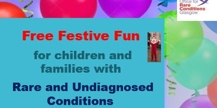 Festive Fun Event for Children and Families Living with Rare Conditions