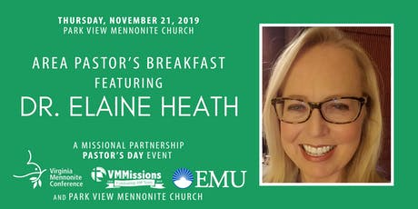 Area Pastor's Breakfast with Dr. Elaine Heath tickets