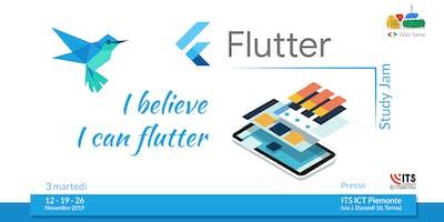 Flutter Study Jam - I believe I can Flutter