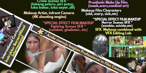 Akademi Makeup film specialist(SFX,prothestic,chrcters,artist)bginner/xpert
