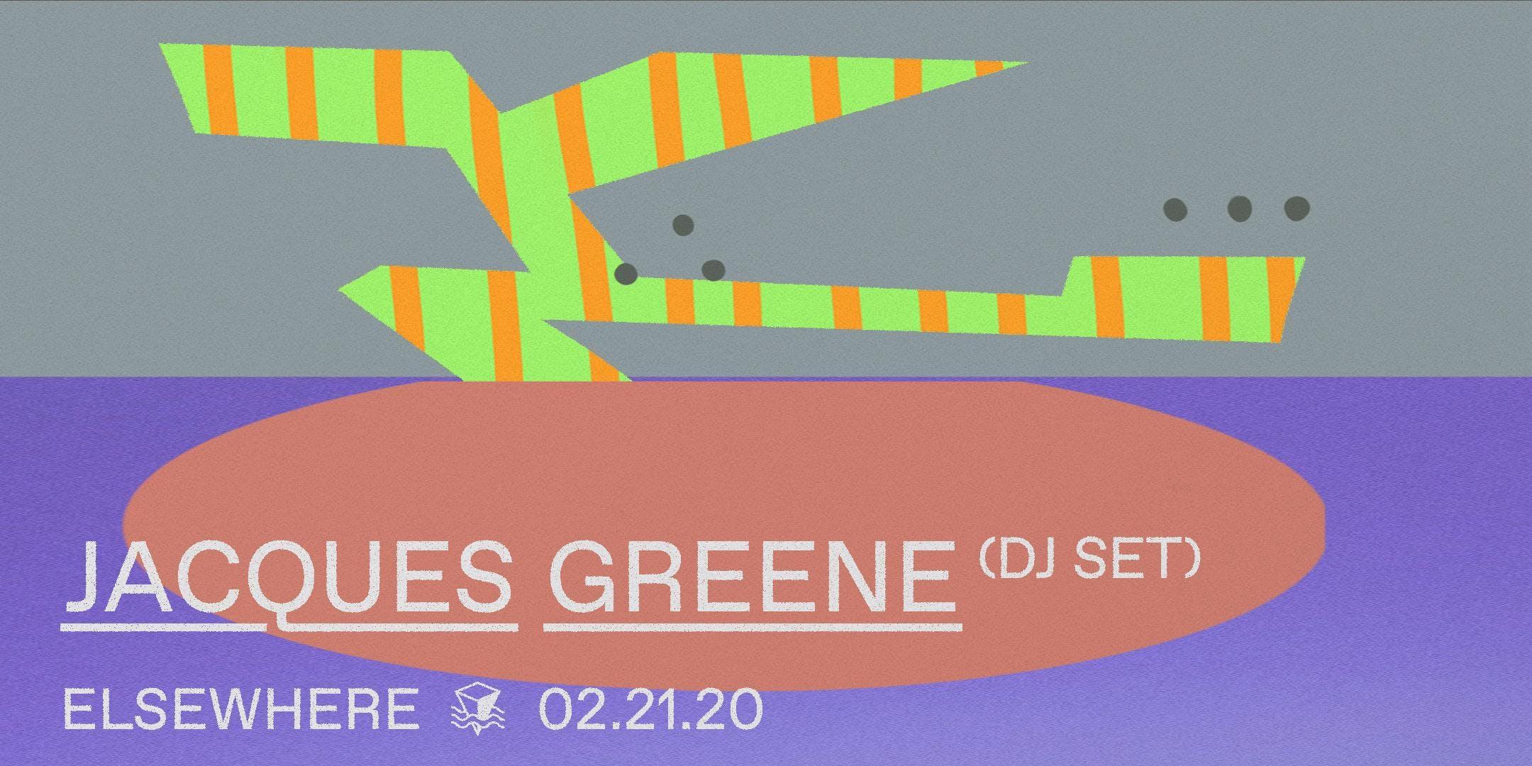 Jacques Greene (DJ Set)