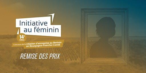 Remise des prix Initiative au féminin 2019