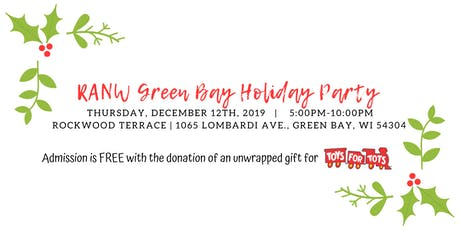 2019 RANW Green Bay Holiday Party tickets