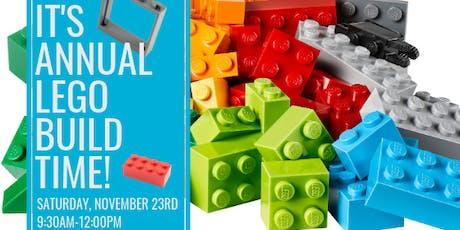 Annual Habitat LEGO Build 2019 tickets
