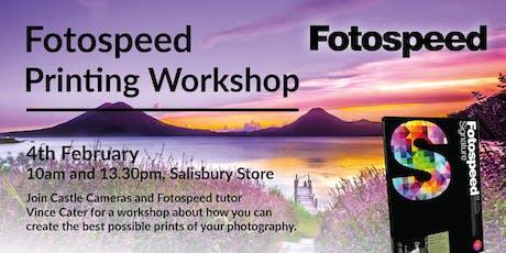 Fotospeed Printing Workshop tickets