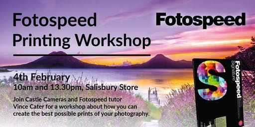 Fotospeed Printing Workshop