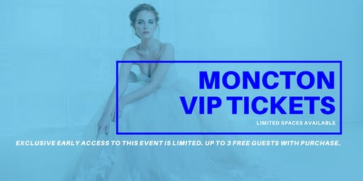 Opportunity Bridal VIP Early Access Moncton Pop Up Wedding Dress Sale