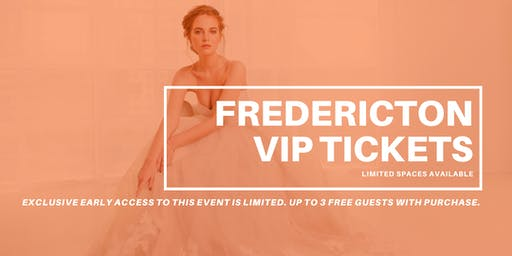 Opportunity Bridal VIP Early Access Fredericton Pop Up Wedding Dress Sale