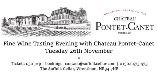 Fine Wine Tasting with Pontet-Canet