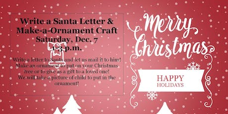Copy of Santa Letter and Ornament Craft tickets