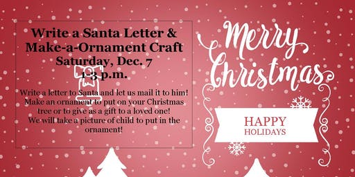 Santa Letter and Ornament Craft