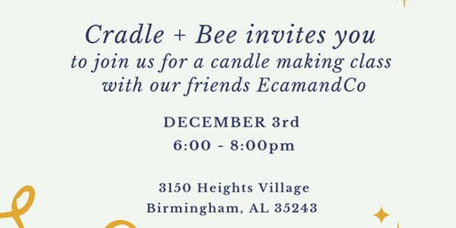 Holiday Candle Making Class