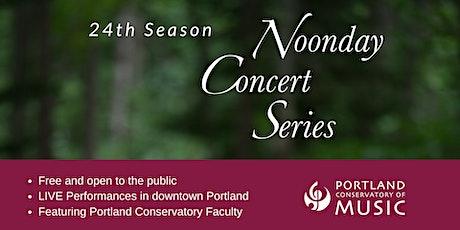 Noonday Concert Series: Margaret Hopkins and Bozena O'Brien tickets