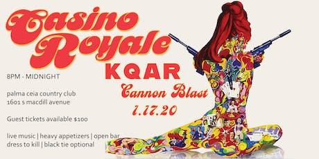 Cannon Blast: Casino Royale tickets